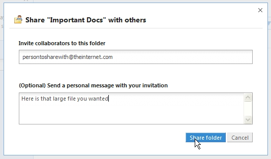 Sharing Dropbox