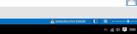 SENDRECEIEVE ERROR